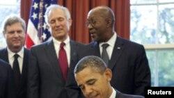 اوباما، امضای لایحه احریم ایران