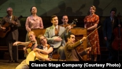 A scene from the Classic Stage Company's production of Rodgers' & Hammerstein's Allegro, directed by John Doyle.