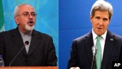 El secretario de Estado de EE.UU., John Kerry (derecha) y su contraparte iraní, Mohamed Javed Zarif, sostendrán la primera reunión bilateral con su similar de Irán en los últimos seis años.