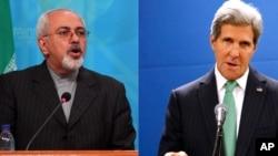 伊朗外长扎里夫和美国国务卿克里