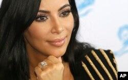 Kim Kardashian en el Festival Internacional Publicitario Cannes Lions 2015. Cannes, Francia, junio 24, 2015.
