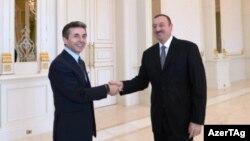 Prezident İlham Əliyevin Gürcüstanın baş naziri Bidzina İvanişviliilə görüşü