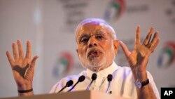Perdana Menteri India Narendra Modi di New Delhi. (Foto: Dok)