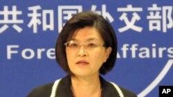 中國外交部發言人姜瑜