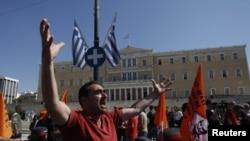 Demonstracije protiv mera štednje u Atini