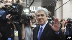 葡萄牙看守内阁总理苏格拉底参加欧盟峰会