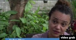 Andrea Mesa (Photo: videograb/Kevin Enoch report)