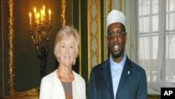 Madaxweynaha iyo Wasiirka Africa ee Britain
