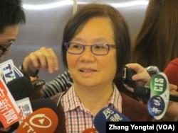 台湾执政党国民党立委罗淑蕾 (美国之音张永泰拍摄)