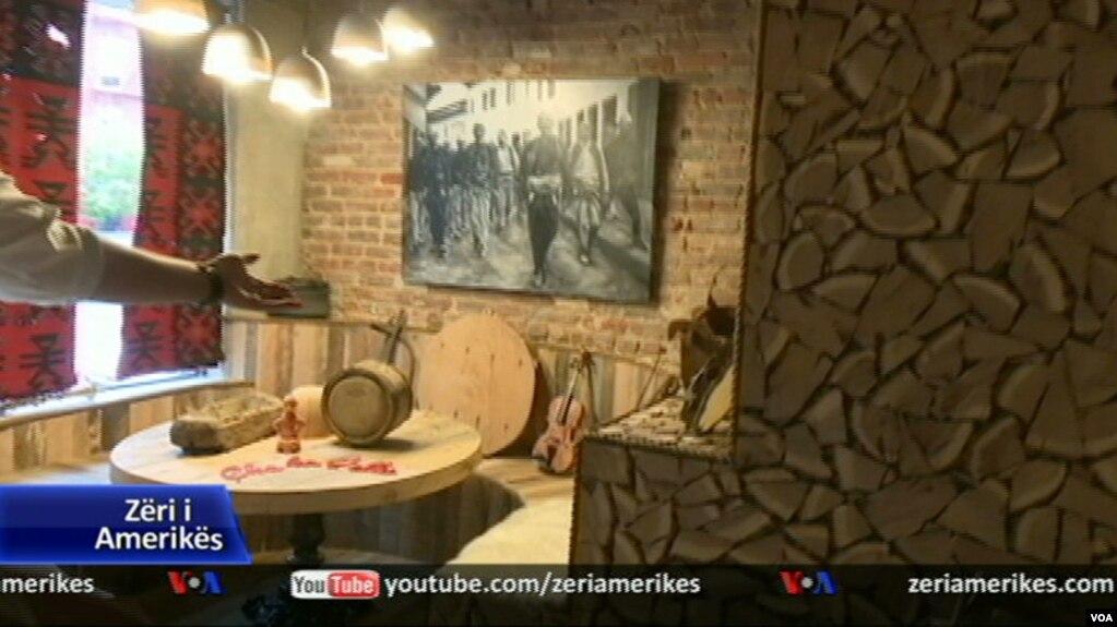 "Restoranti shqiptar ""Tradita"" në Nju Jork"