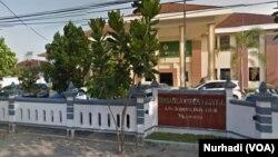 Pengadilan Negeri Bantul, Yogyakarta (Foto: VOA/Nurhadi)