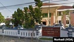 Pengadilan Negeri Wilayah Bantul, Yogyakarta (Foto: VOA/Nurhadi)