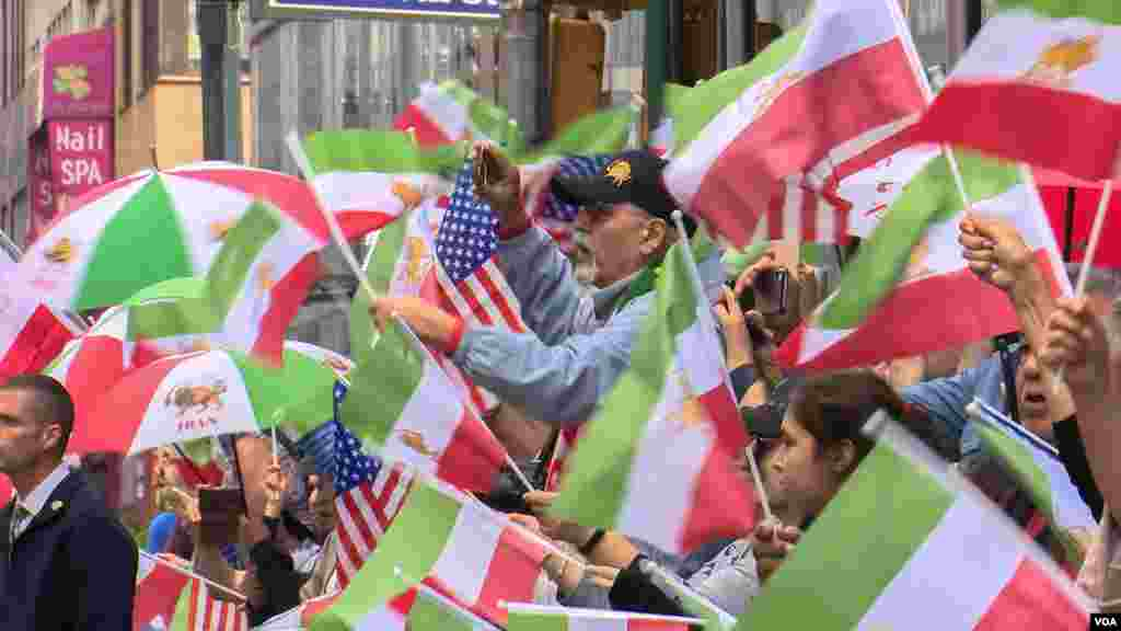 رژه ایرانیان در شهر نیویورک در سال ۲۰۱۹- این رژه در حدفاصلخیابان مدیسون از تقاطع خیابان ۳۹ آغاز تا مدیسون اسکوئر پارک - یا میدان مدیسون - در شهر نیویورک برگزار می شود.
