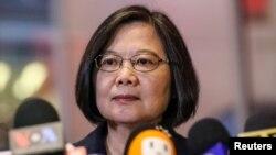 台湾总统蔡英文在台湾驻纽约台北经济文化办事处发表讲话(2019年7月11日)