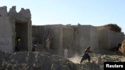 Zona atingida pelo terramoto, Afeganistão