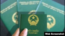 Vietnam Passport