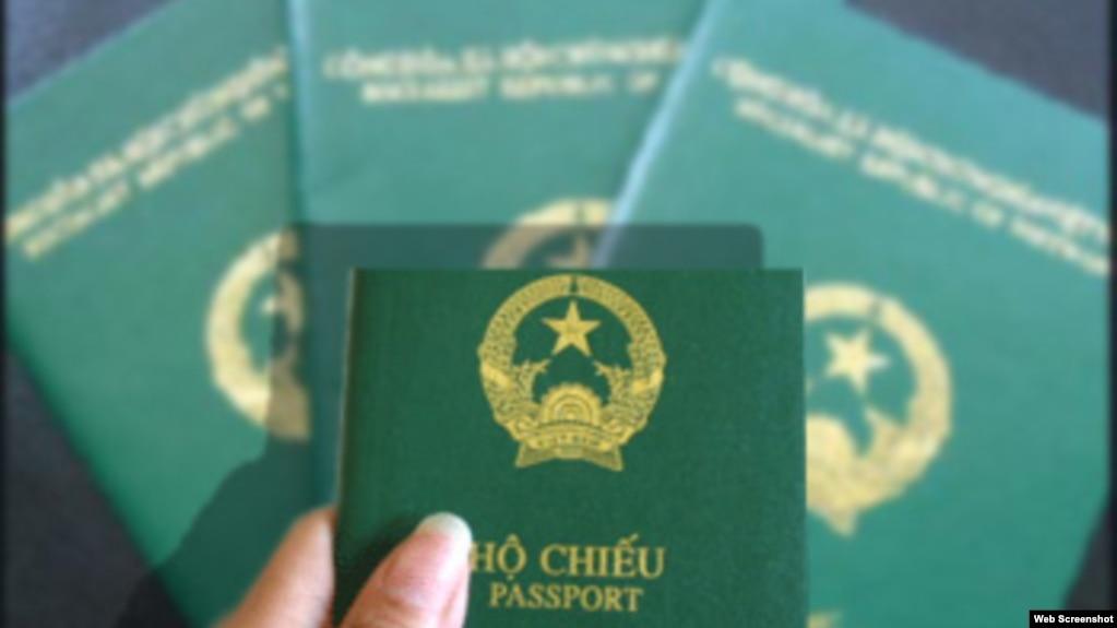 Hộ chiếu Việt Nam.