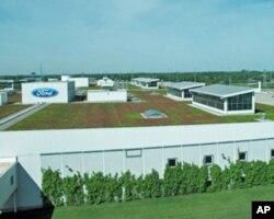 密西根州的福特汽车厂
