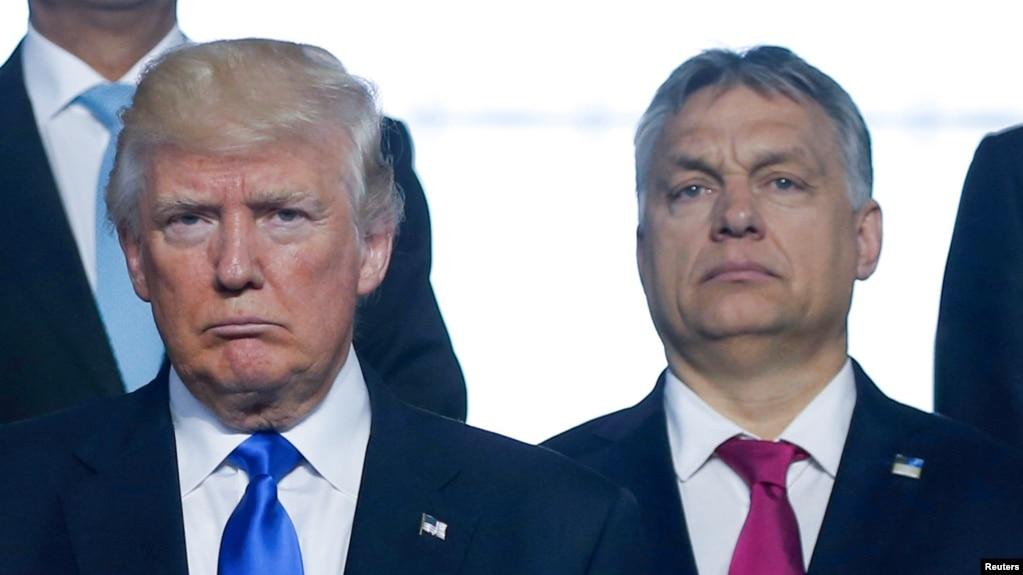 Resultado de imagem para Orbán, Trump
