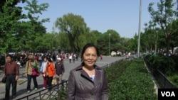 天安门母亲运动推选出新发言人尤维洁(美国之音)