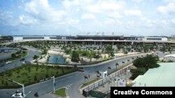 Sân bay quốc tế Tân Sơn Nhất ở Thành phố Hồ Chí Minh. (Ảnh tư liệu)