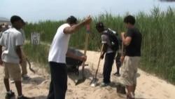 Teens On Probation Help Victims of Hurricane Sandy
