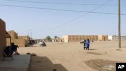 Une vue de Kidal, dans le nord du Mali