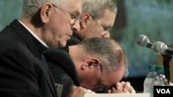 Los obispos estadounidenses han estado bajo presión a causa de cientos de casos de abusos sexuales denunciados en el país.
