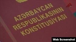 Azərbaycan Respublikasının Konstitusiyası