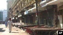 کراچی میں تاجروں کی ہڑتال، کاروبار بند