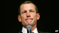 Vận động viên Lance Armstrong