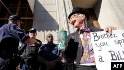 Ուոլ Սթրիթի դեմ բողոքի ակցիա անցկացվել է Վաշինգտոնում