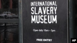 Britain Marks Slavery Remembrance Day