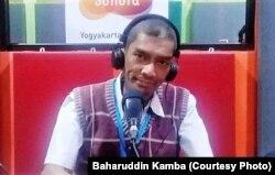 Baharuddin Kamba, aktivis Jogja Corruption Watch (JCW). (Foto: dokumen pribadi)