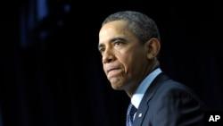 奥巴马发表讲话