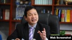 Chủ tịch FPT Trương Gia Bình (Chụp từ Trang Tinnhanhchungkhoan.vn)