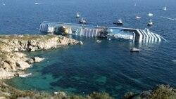 شمار کشته شدگان در جریان سرنگون شدن کشتی ایتالیایی به پنج نفر رسید