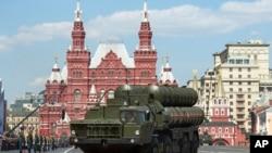 Rusya üretini S-400 füze savunma sistemi