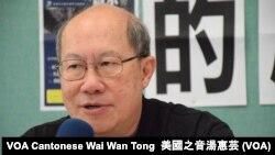 香港中文大學中國研究中心客席教授、時事評論員林和立 (攝影:美國之音湯惠芸)