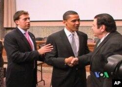 Αλέξης Γιαννούλιας, Μπαράκ Ομπάμα με τον Γιώγο Μπίστη