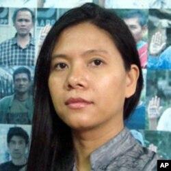Khin Cho Myint former Burmese political prisoner