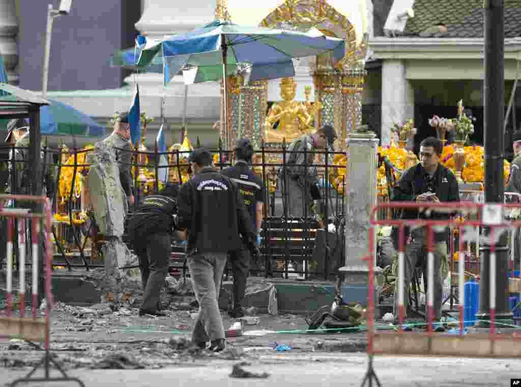 یہ دھماکا مقامی وقت کے مطابق شام 7 بجے کے لگ بھگ رچا پراسونگ کے تجارتی چوک کے قریب ہوا۔