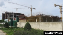 Một khu đất được cho là thuộc sở hữu của người Trung Quốc ở trung tâm Đà Nẵng.