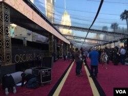 Lokasi acara karpet merah Oscars 2016 (Dok: VOA/Dhania)