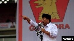 Ketua Umum Gerindra, Prabowo Subianto (foto: dok).
