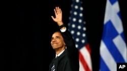 Greece Obama