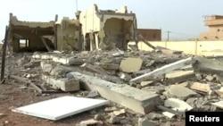 萨赫勒五国集团驻马里部队总部遇袭后视频截图