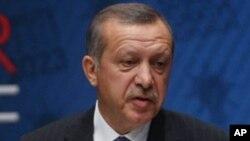 图为土耳其总理埃尔多安资料照