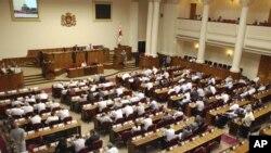 Заседние парламента Грузии