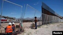 Цей паркан на кордоні з Мексикою має припинити хвилю незаконних іммігрантів до США